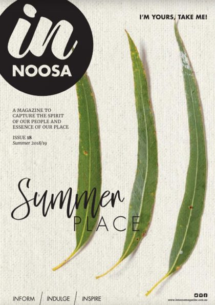 IN Noosa Magazine summer 2018