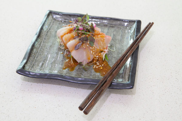 Kingfish Sashimi by Matt Golinski
