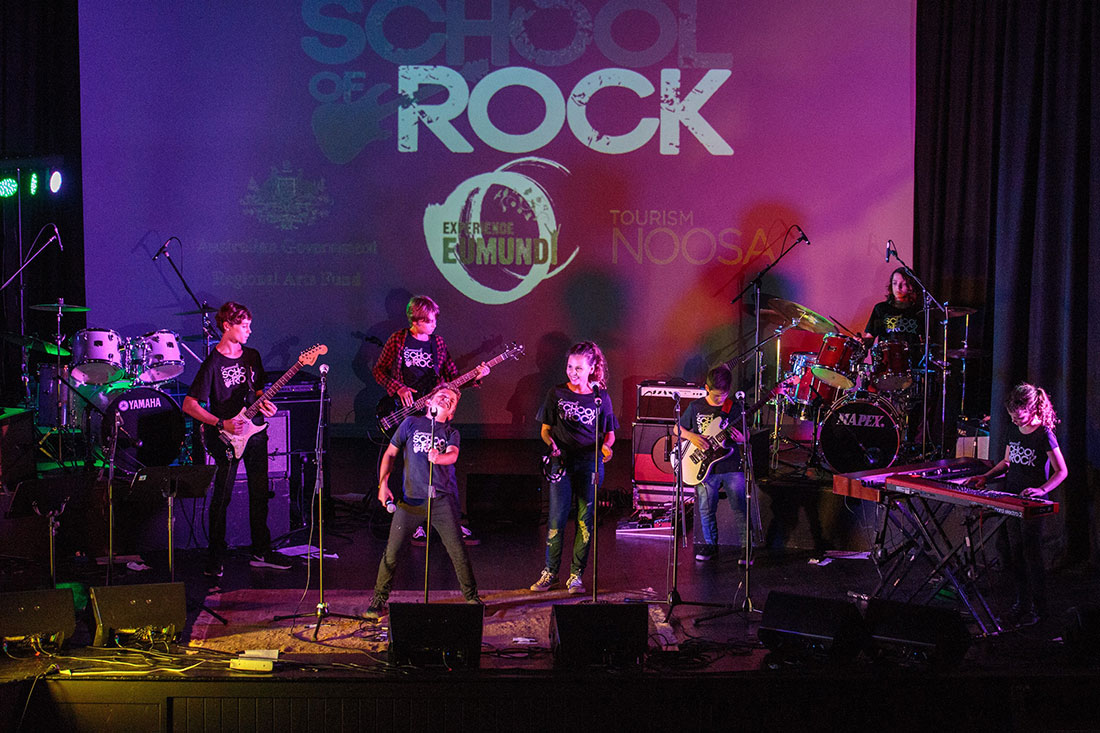 Schools Out For Eumundi School of Rock