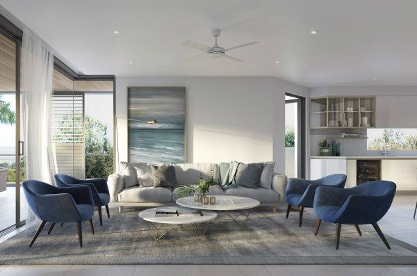 Latest In Luxury Living Underway In Noosa at Settler's Cove