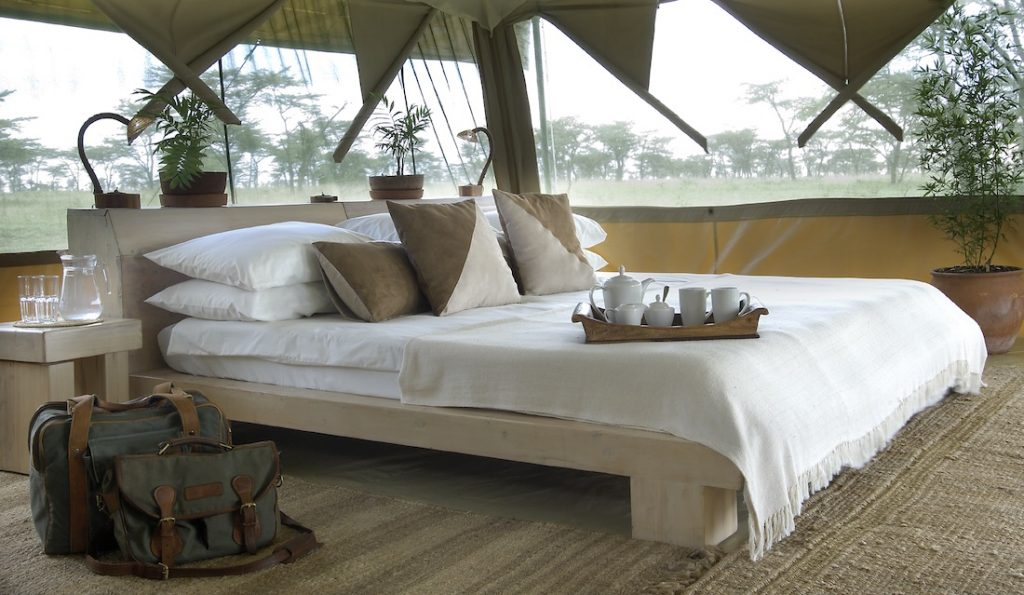 bedroom of Kicheche Bush Camp