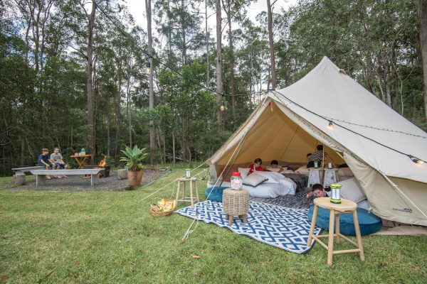 Luxury Camping Saves The Day!