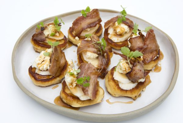 recipes-pikelets with ricotta voodoo bacon