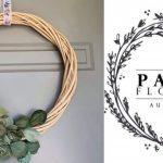 #imadeitmyself  –  Xmas Wreath with Paper Flowers Australia