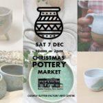 BFAC Christmas Pottery Market SAT 7 DEC