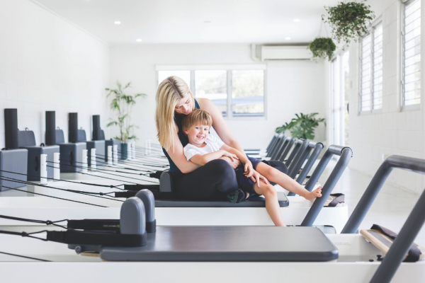Parenting, Fitness, Work: A Balancing Act