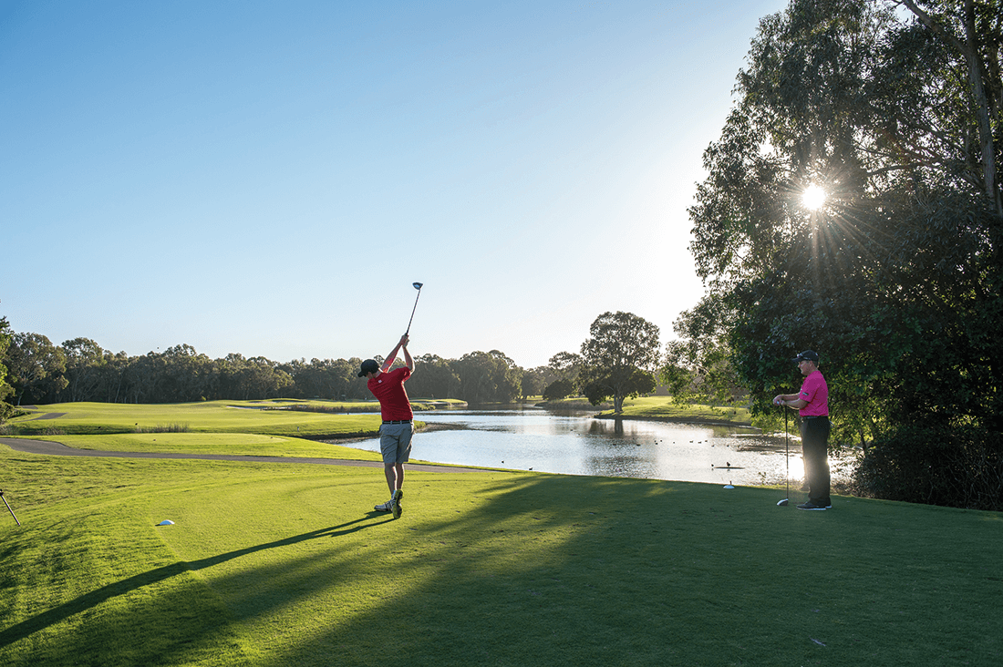 noosa springs golf course