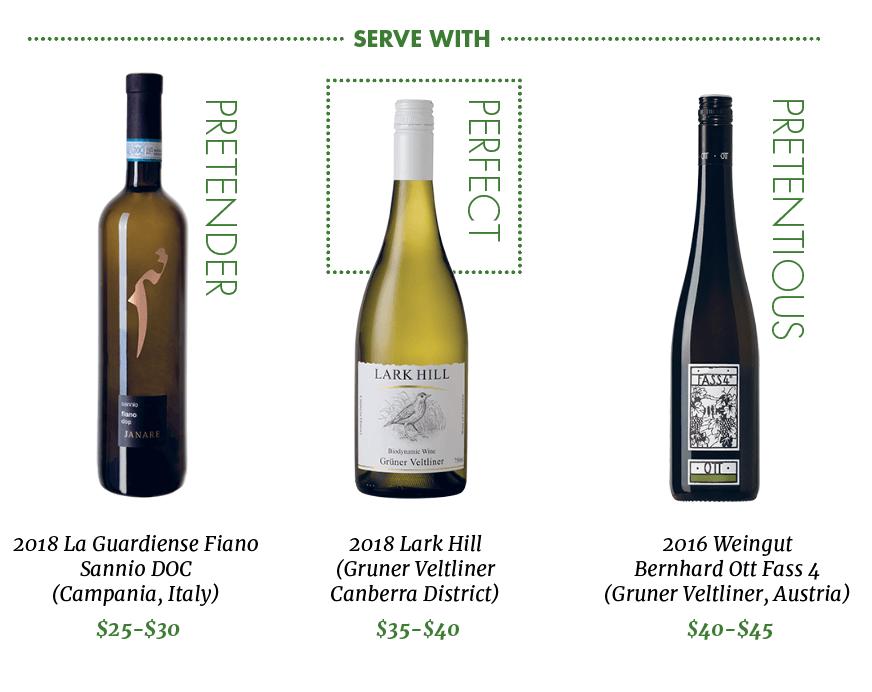 Spring Wines Prawns