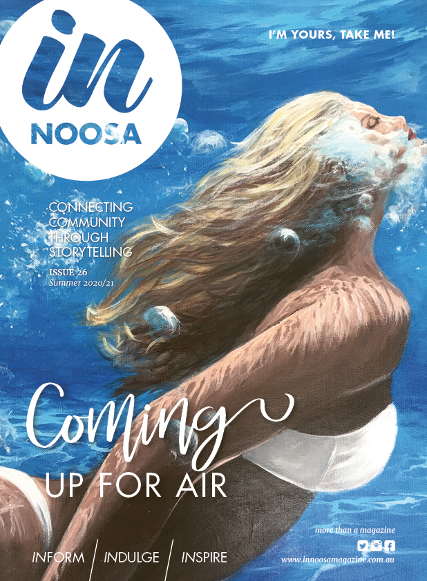 IN NOOSA SUMMER 2020 COMING UP FOR AIR