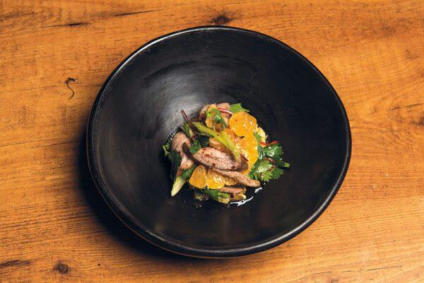 Recipe: Duck and Mandarin Salad