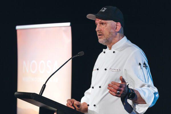 Community of Kindness - Matt Golinski at Eat Local Noosa